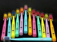 разноцветные щетки
